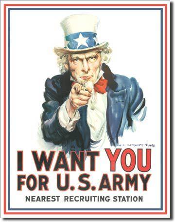 rekrutacja do armii