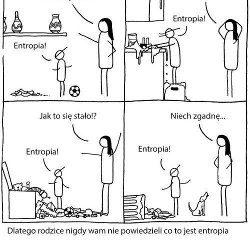 Entropia i prawo Murphyego