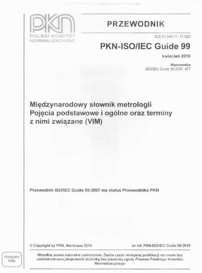 Spójność pomiarowa - wzorcowanie - metrologia 2