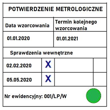 Spójność pomiarowa - wzorcowanie - metrologia 14