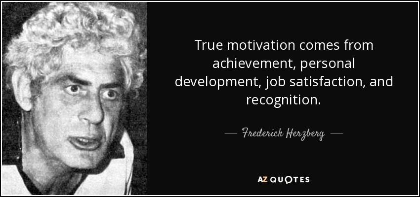 Dwuczynnikowa teoria Herzberga- teoria motywacji [działa szybko] 1
