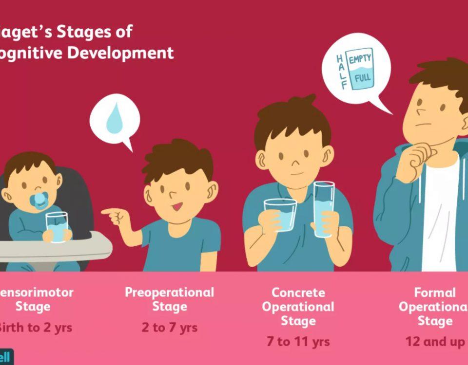 4 stadia rozwoju poznawczego wg Piageta