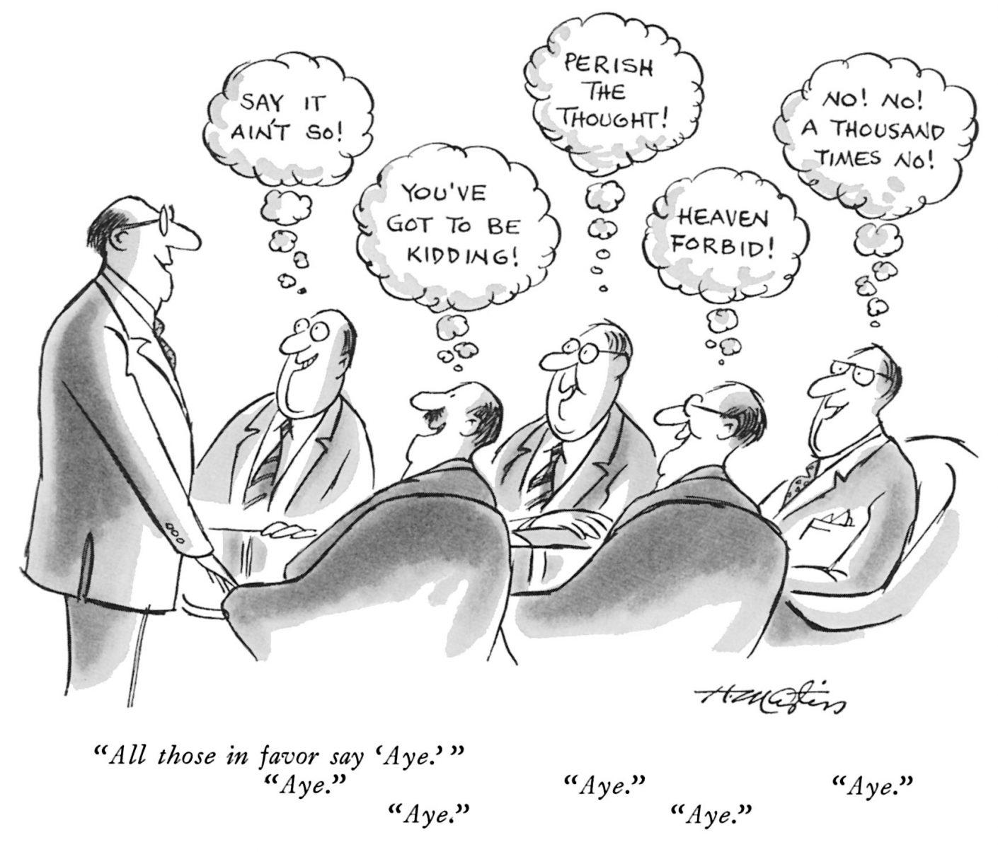 Syndrom grupowego myślenia