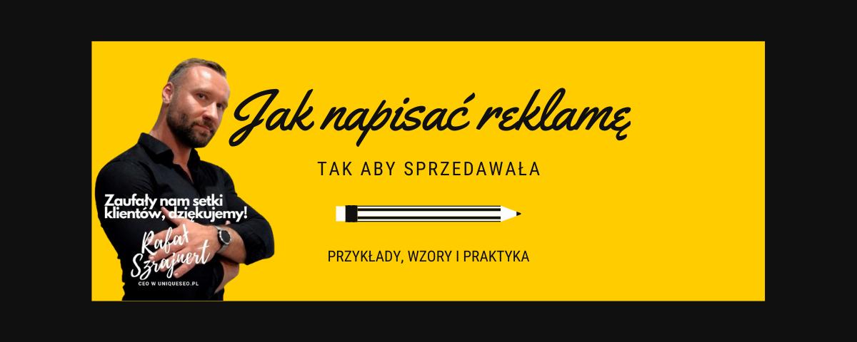 Jak napisać reklamę