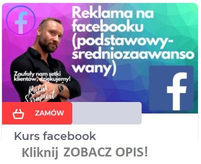 kurs facebook szkolenie online