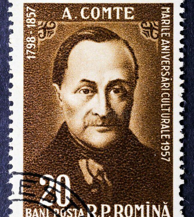 auguste comte socjologia socjolog