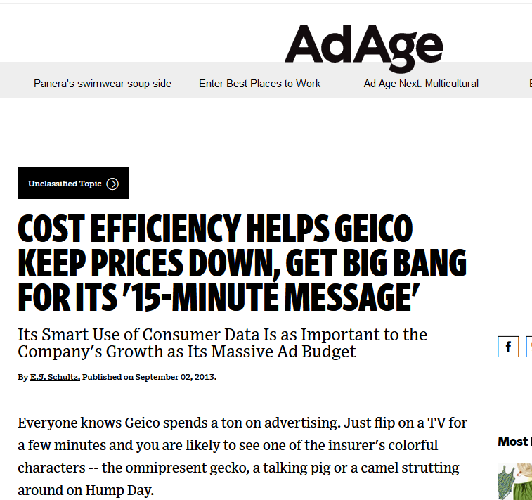 geico analiza marketingowa jak zarobili miliardy