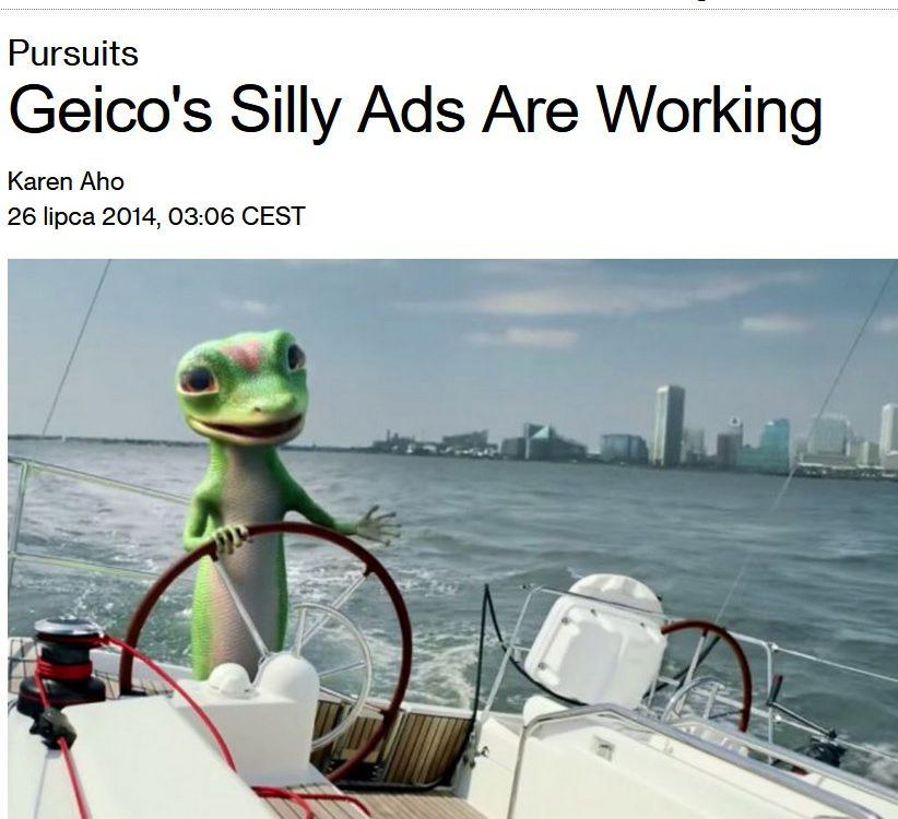 geico analiza reklam jak zarobili miliardy